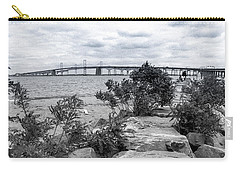 Carry-all Pouch featuring the photograph Traversing The Chesapeake by T Brian Jones