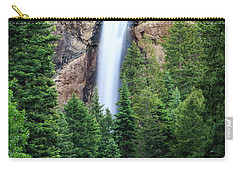 Carry-all Pouch featuring the photograph Treasure Falls by David Chandler