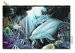 Treasure Hunter Carry-all Pouch by William Love