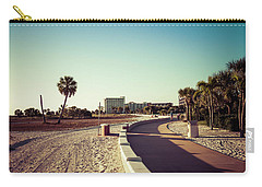 Carry-all Pouch featuring the photograph Treasure Island Beach Trail by Joel Witmeyer