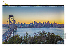 Treasure Island Sunset Carry-all Pouch by JR Photography