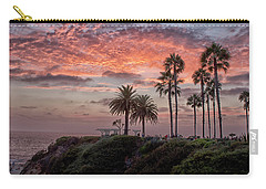 Treasure Island Sunset Carry-all Pouch