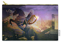 Carry-all Pouch featuring the photograph Treasures Of The Caucasus Cover II by Anastasia Savage Ealy