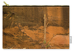 Tree And Sandstone Carry-all Pouch