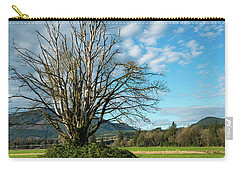 Tree And Sky Carry-all Pouch