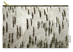 Carry-all Pouch featuring the photograph Tree Bark Abstract by Christina Rollo
