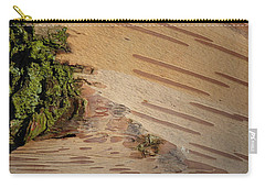 Tree Bark With Lichen Carry-all Pouch by Margaret Brooks