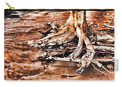 Tree By The Ocean 1 Carry-all Pouch
