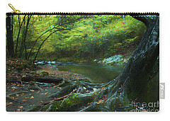 Tree By Water Carry-all Pouch by Lena Auxier