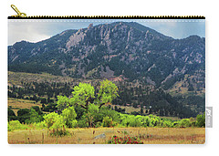 Carry-all Pouch featuring the photograph Tree Drama by Marilyn Hunt