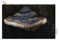 Carry-all Pouch featuring the photograph Tree Fungus by Tikvah's Hope