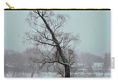 Tree In A Blizzard Carry-all Pouch