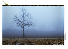 Tree In Fog 9954 Carry-all Pouch