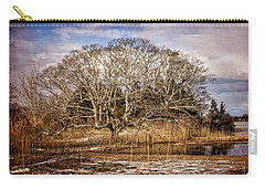 Tree In Marsh Carry-all Pouch