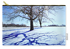 Carry-all Pouch featuring the photograph Tree Light by Phil Koch