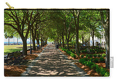 Tree Lined Path Carry-all Pouch