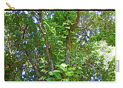Carry-all Pouch featuring the photograph Tree M1 by Francesca Mackenney
