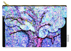 Carry-all Pouch featuring the painting Tree Menagerie by Genevieve Esson