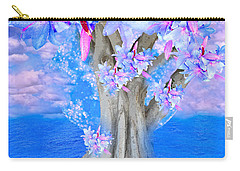 Tree Of Hope Carry-all Pouch by Saundra Myles