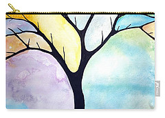 Tree Of Life Carry-all Pouch by Edwin Alverio
