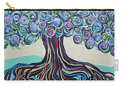 Tree Of Life-spring Carry-all Pouch