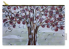 Tree Of Life - Winter Carry-all Pouch