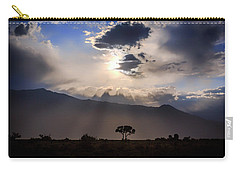 Carry-all Pouch featuring the photograph Tree Of Light by Cat Connor