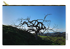 Carry-all Pouch featuring the photograph Tree Of Light - Landscape by Matt Harang