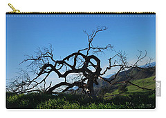 Carry-all Pouch featuring the photograph Tree Of Light - Slanted Horizon by Matt Harang