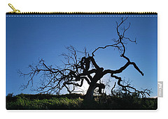 Carry-all Pouch featuring the photograph Tree Of Light - Straight View 2 by Matt Harang
