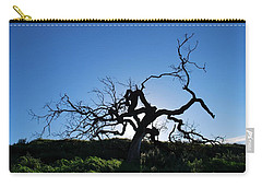 Carry-all Pouch featuring the photograph Tree Of Light - Straight View by Matt Harang