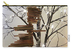 Tree Of Lights Carry-all Pouch by Robin Regan