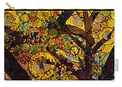 Carry-all Pouch featuring the digital art Tree Of Prosperity by Klara Acel