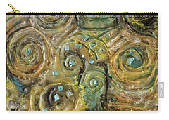 Tree Of Swirls Carry-all Pouch