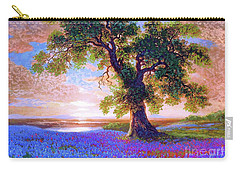 Tree Of Tranquillity Carry-all Pouch