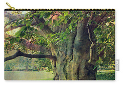 Carry-all Pouch featuring the photograph Tree Of Wisdom by John Rivera