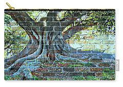 Tree On A Wall Carry-all Pouch