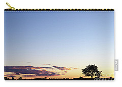 Tree Silhouette By Twilight Carry-all Pouch
