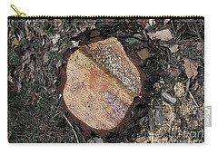Tree Stump Carry-all Pouch by Dariusz Gudowicz
