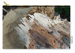 Carry-all Pouch featuring the photograph Tree Stump by Richard Ricci