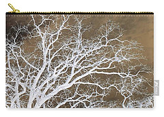 Carry-all Pouch featuring the photograph Tree Top Right Diptych by Ellen O'Reilly
