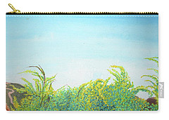 Tree Tops Carry-all Pouch by Mary Ellen Frazee