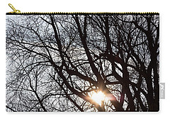 Carry-all Pouch featuring the photograph Tree With A Heart by James BO Insogna