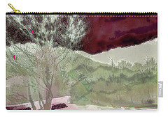 Tree Witness To Lake At Dawn Carry-all Pouch