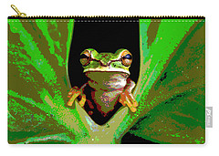 Treefrog Carry-all Pouch by Charles Shoup