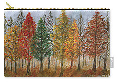 Treeline Painting Carry-all Pouch