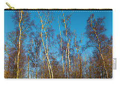 Trees And Blue Sky Carry-all Pouch