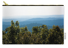 Carry-all Pouch featuring the photograph Trees And Rolling Hills by Parker Cunningham