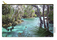 Trees By The Spring Carry-all Pouch