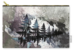 Trees Carry-all Pouch by Geraldine DeBoer